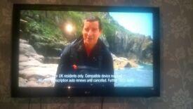 "LG 47"" LCD TV,Freeview,3 HDMI,USB"