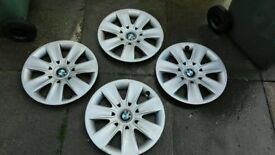 BMW Wheel Trims - 16 Inches - Good Condition