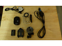 Action cam with extras SJ1000