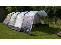 Tent 6 man tunnel type. Perfect condition