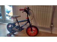 Boys Spiderman Bike 12 inch