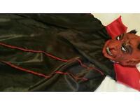 DEVIL FANCY DRESS COSTUME FOR SALE .