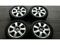 "Vw audi skoda seat wheels 16"" alloys"