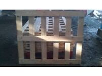 3 wooden sections