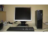 Lenovo SFF Tower, i5, 14gb ram, 256gb SSD, USB3, Win10. Fast PC Tower