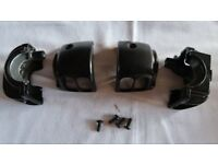 Harley Davidson Road King Custom Switch Gear Housings (Left and Right)