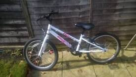 kids 20 inch bike. apollo envy excellent condition