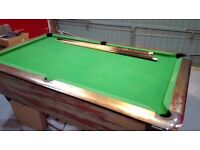 Pool Table => 7' Slate Sam Billiards Atlantic