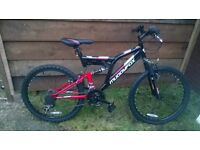 brand new boys muddy fox mountain bike