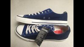 Brand new limited edition two tone converse shoes size 10
