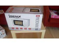 New Igenix IG2008 20 Litre 800W Manual Microwave - White