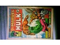 marvel hulk comics