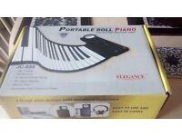 49 Key Portable Roll Piano - Elegance JC-888 As new/unused