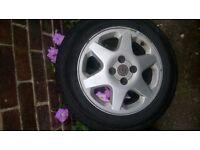 4 stud Vauxhall alloy wheels