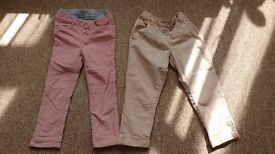 2 pairs of trousers, 3 yrs