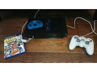 PlayStation 2 PS2 Fat with accessories and games PS1 compatible