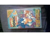 adventures of sonic the hedgehog 2 vhs