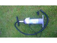 rib inflatable pump