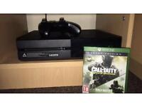 XBOX ONE 500GB WITH CONTROLLER, HEADSET & COD GAME