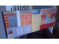 Ikea Large Abstract Canvas