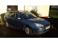 Ford Focus CL TD for spares or repair