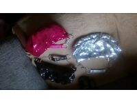 3 sequined little bags