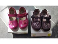 Clarks First shoes 4.5F
