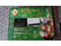 80 sparkle lights, low voltage