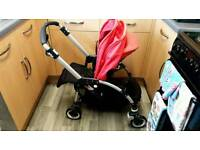 Bugaboo bee 09 with plus wheels and plus harness