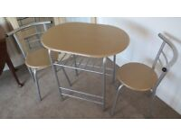 Small Table & Two Chairs