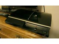 320GB faulty ps3 with power leads and a 30 pound 320 hard drive