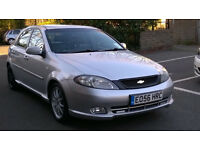 CHEVROLET LACETTI 1.8i SPORT 2006 54 REG MET SILVER / LEATHER 5 DOORS 5 SPEED MANUAL PAS A/C 103K
