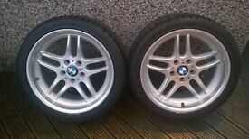"BMW E39 18"" Staggered Style 37s - Paras / Parallels"