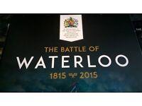 Waterloo 200th anniversary coin set