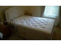"Anna 4'6"" Double Electric Adjustable Bed by Furmanac"