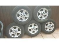 Freelander wheels and tyres