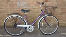 LADIES RALEIGH HYBRID TOWN BIKE