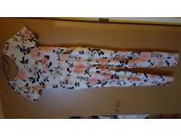 Ladies floral jump suit brand new