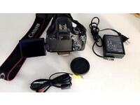 Canon camera 600D like new comes with lean 18-135mm. ( not 18-55mm)