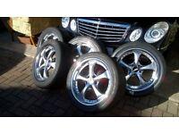 car alloy wheels RS7 model