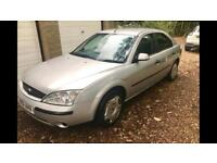 2001 Ford Mondeo Silver