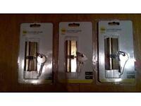 Door locks: Yale Euro Profile Cylinder locks: Brand new and sealed