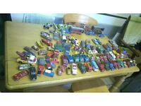 huge collection mainly corgi cars