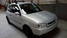 Seat Arosa 1.0 Mpi 1999 76633miles new MOT