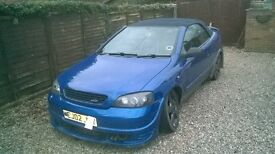 Vauxhall Astra Convertible spares or repair