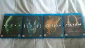 Aliens blueray collection