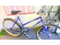 PEUGEOT TOWN BIKE WITH BASKET FULLY RESTORED
