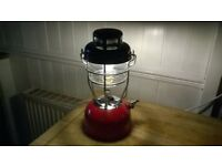 old lamp converted to 240v led table lamp