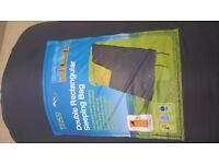 Double sleeping bag, from tesco 3 kg in weight used about 6 times