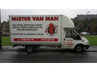MAN AND VAN LIVERPOOL, MANCHESTER, BOLTON, WIGAN, CHESTER, WARRINGTON, BIRMINGHAM, LONDON